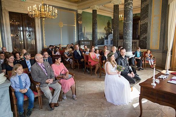 Hochzeitsfotografie Schloss Albrechtsberg