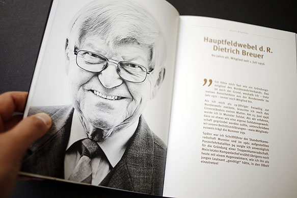 Werbekampagne: Portraits für den DBwV