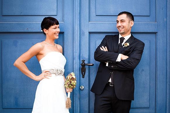 Hochzeitsfotograf - Hochzeitsportraits von Susi & Stefan in Pirna