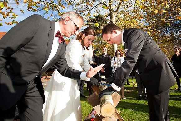 Hochzeitsfotograf - Hochzeitsfotos im Luckner Parkrestaurant in Dresden