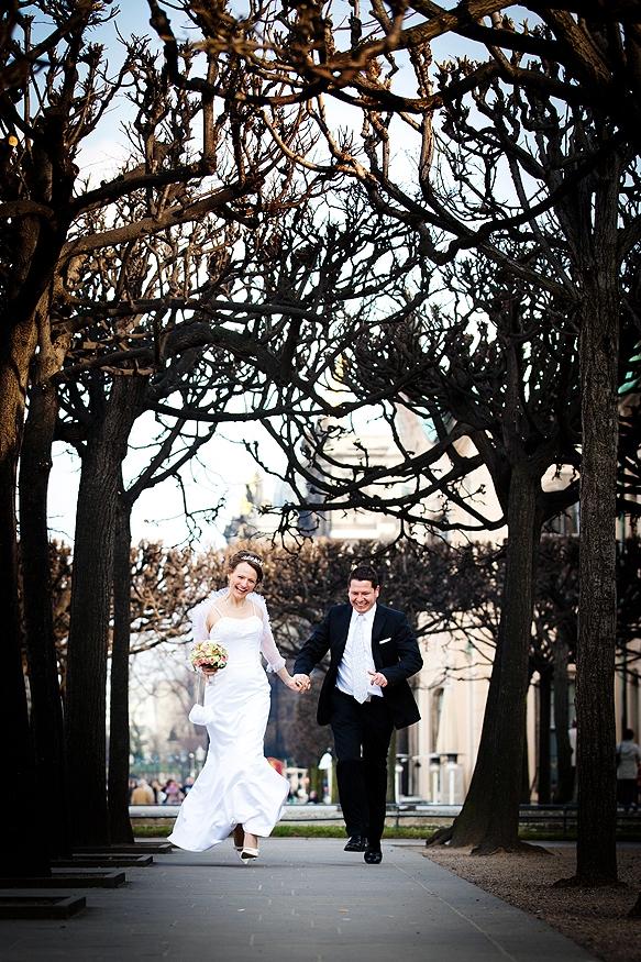 Hochzeitsfotos in Dresden