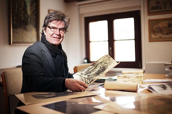 Pressefotograf - Portrait des Galeristen Manto Sillack aus Dresden