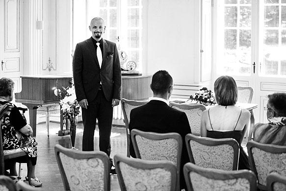 Hochzeitsfotografie Barockschloß Oberlichtenau: Standesamtliche Trauung
