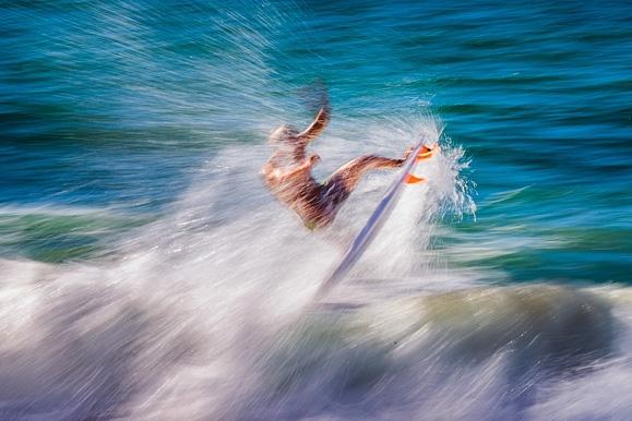 Sportfotograf - Surfer beim WLS ProAnglet