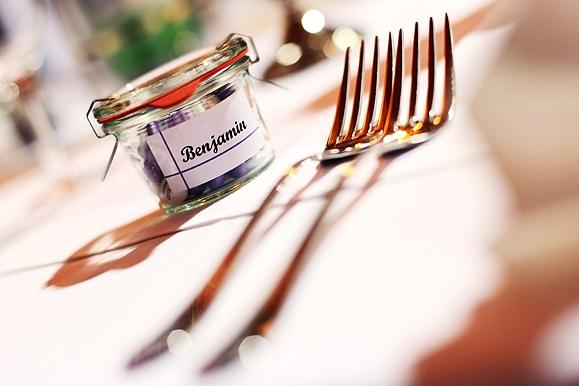 Hochzeitsfotograf - Tischdeko und Namensschild