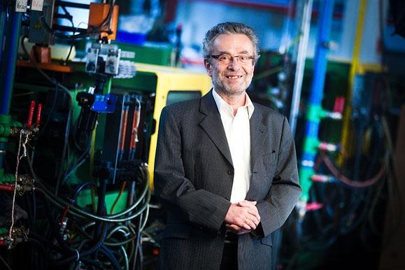 Business-Fotografie: Business-Portrait Geschäftsführer Kunststoffwerk