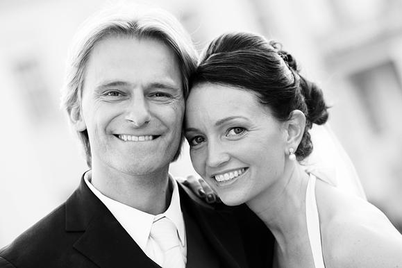Hochzeitsfotograf - Hochzeitsportrait auf Schloß Wackerbarth