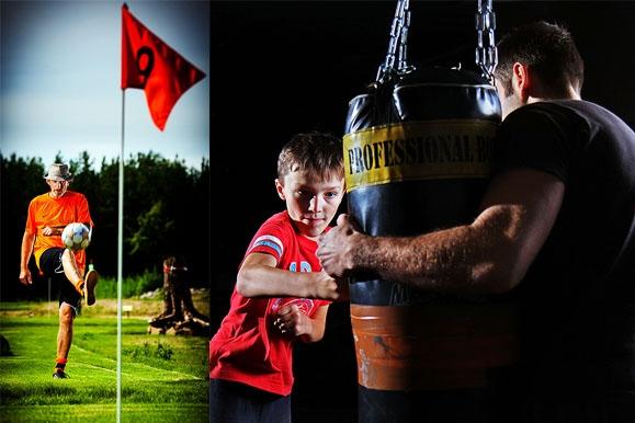 Pressefotograf - Deutscher Meister im Soccer Golf & Kampfsport