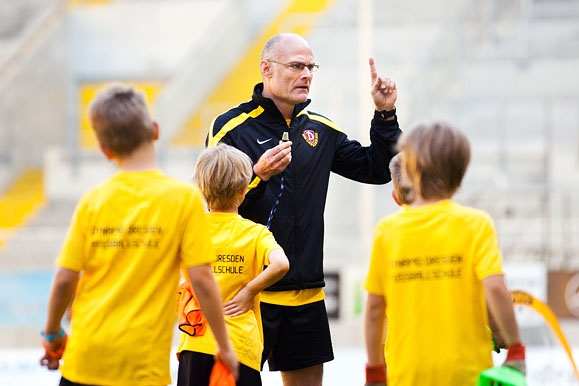Firmenfotograf - Feature Nachwuchsarbeit der SG Dynamo Dresden