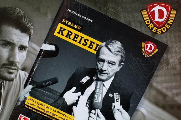 Firmenfotograf - Titelseite des Stadionmagazin
