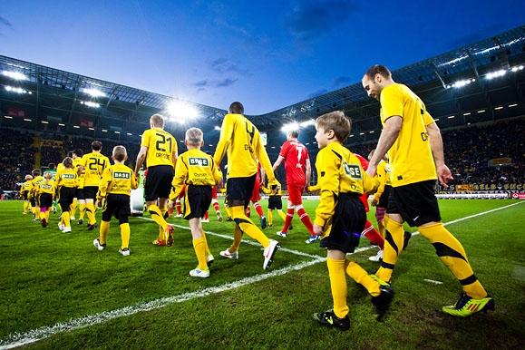 Sportfotografie - Feature für die SGD